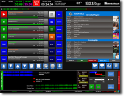 iMediaTouch Library Screen